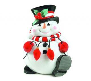 Fitz And Floyd Christmas Cookie Jar