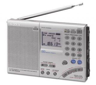 Sony AM/FM FM Stereo Multi Band World Band Receiver Radio —