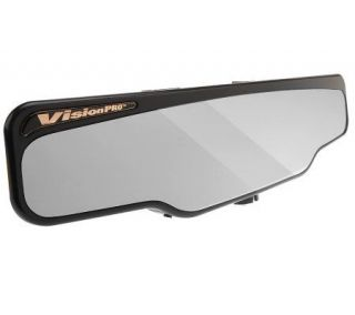 VisionPRO Deluxe Wide Angle Rearview Mirror w/LED Light —
