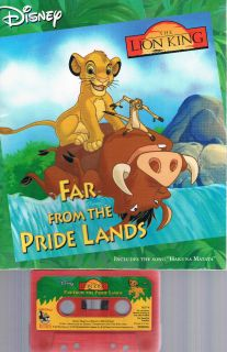 Disney The Lion King: Far From the Pride Lands Read Along Book