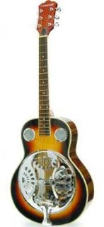 Crestwood 2025SB Round Neck Wood Body Resonator Dobro Guitar
