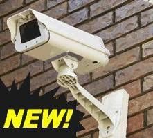 CCTV Metal Camera Housing Tint Glass Gang Crime Stopper
