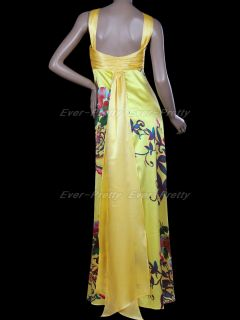 Yellows Criss Cross Straps Gorgeous Banquet Party Dresses 09260 US