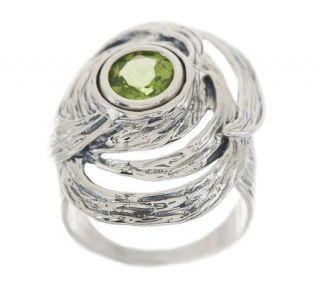 Hagit Gorali Sterling Vibes 1.00 ct Peridot Ring   J272234