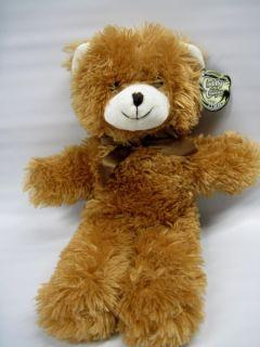 Soft Cuddly Cousins Teddy Bear Blue Cute Plush SA16