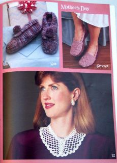 Crochet Knit Patterns Christmas Valentines Easter Mothers Day Fathers