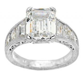 Tacori IV Diamonique Epiphany Emerald Cut Graduated Ring   J273135