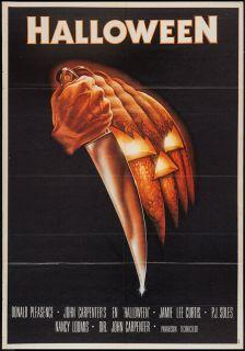 Original Halloween 1978 John Carpenter Horror Slasher Poster Spanish