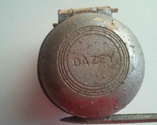 Vintage Dazey Hand crank coffee grinder/ ice crusher counter mount