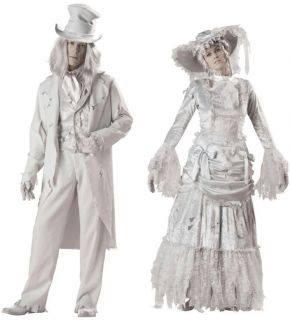 ... Couples Halloween Costume Ghostly Gent and Lady Elite Collection Pair ...  sc 1 st  PopScreen & Ghostly Lady Girls Costume Ghost Costumes