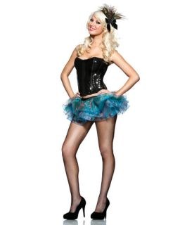 Womens Sexy Peacock Halloween Costume Kit