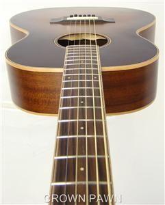 Morgan Monroe Creekside MV 01 NEW Acoustic Guitar in HARD CASE