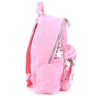 Skechers Cotton Candy Sequins Front Pocket Backpack