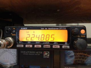 Alinco Dr 235T 220MHz VHF Amateur Radio Transceiver