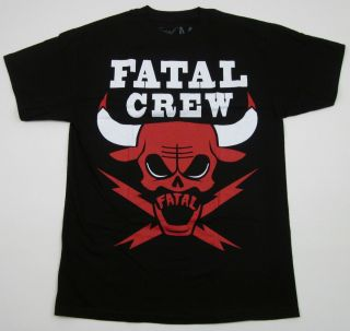 No Bull T Shirt Chicago Bulls Jordan Fatal Crew Tattoo Art Tee