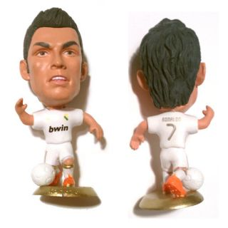 Real Madrid Cristiano Ronaldo Home Jersey 7 Toy Doll Figure 2 5 USA