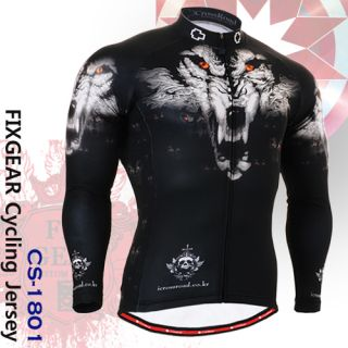 FIXGEAR Cycling Jersey Custom Road Bike Clothes CS 1801