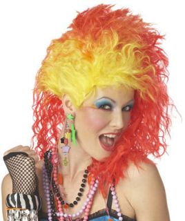 Cyndi Lauper Pop Singer Womens Halloween Costume Wig
