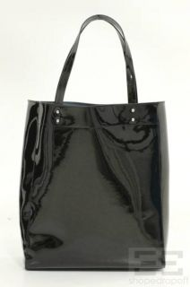 Cynthia Rowley Black Patent Leather Tote Bag New