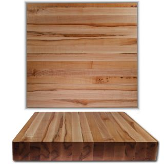 Edge Grain Butcher Wood Cutting Board 18 Sizes 1 5 Thick