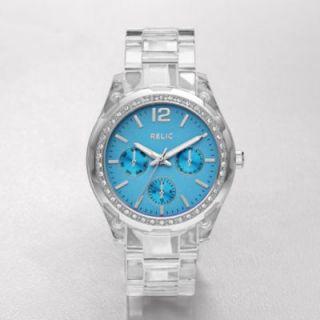 Dial Multifunction Watch Transparent Boyfriend Austrian Crystal