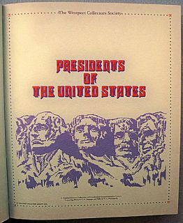 FDC Presidents of The United States 36 First Day Covers in Binder