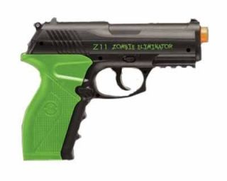 Crosman Zombie Eliminator C02 Airsoft Pistol Black Free Shipping