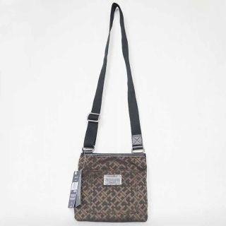 tommy hilfiger dark brown cross body messenger bag great travel bag