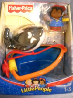 Fisher Price Little People Whale Watching With Michael Toy Set Boy or