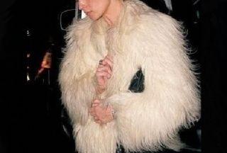New Women Mongolia Lamb Fur Coat Jacket Winter