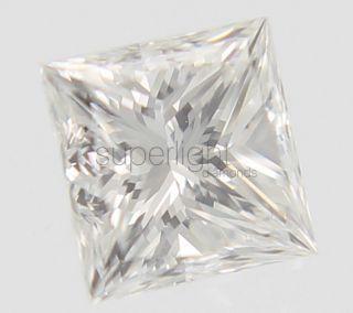 Certified 0 34 Carat D Color VVS2 Princess Buy Natural Loose Diamond 3
