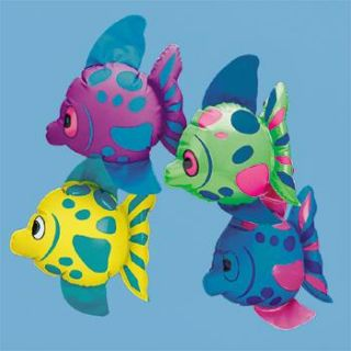 Inflatable Tropical Fish Luau Party Favor Decorations