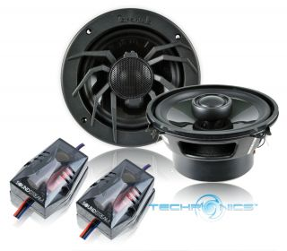 400w max 2 way coaxial full range car audio speakers