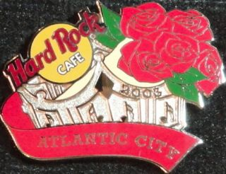 Atlantic City 2003 Miss America Pageant Pin Crown w Roses 19696