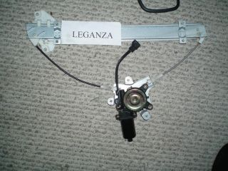 Daewoo Leganza Power Window Regulator FRT Right Door Full Assembly