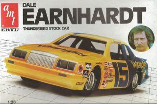 AMT Ertl Dale Earnhardt Thunderbird Plastic Model Car Kit 1 25 Scale