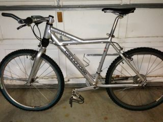 Vintage 1994 Cannondale F1000 hardtail mountain bike bicycle polished