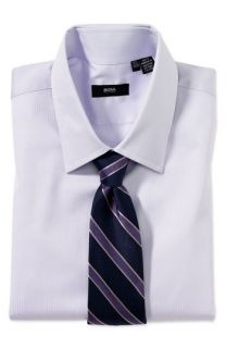 BOSS Black Tailored Fit Dress Shirt &  Tie