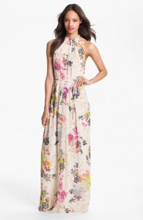 Ted Baker London Summer Bloom Print Maxi Dress