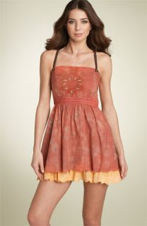 Free People Patras Sheerest Crisscross Strap Dress