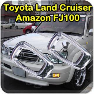 Toyota Land Cruiser  FJ100 Chrome Side Signal Light Trim Lamp