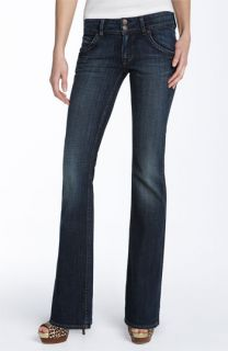 Hudson Jeans Triangle Pocket Bootcut Stretch Jeans (Weiss Wash)