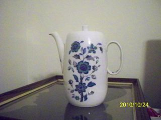 """Royal Worcester """"Alhambra"""" Coffee Pot with Lid 1967"""