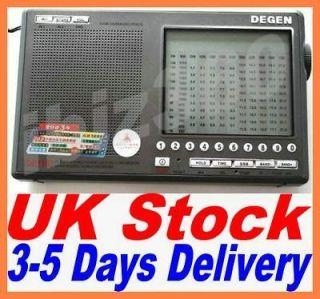 PLL Digital AM/FM/LW SSB Shortwave Receiver Dual Conversion Radio