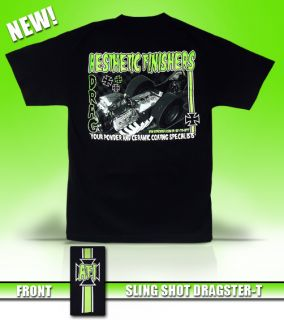 Aesthetic Finishers Monster Slingshot Dragster Racing T Shirt