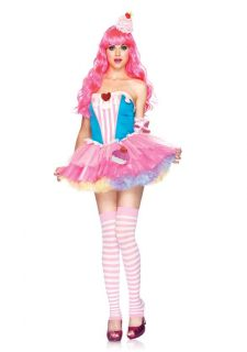 Dreams Cupcake Dress Outfit Adult Halloween Costume New