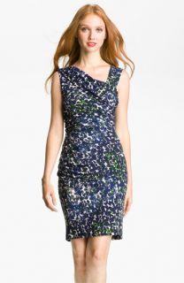 Vince Camuto Abstract Animal Print Dress (Petite)