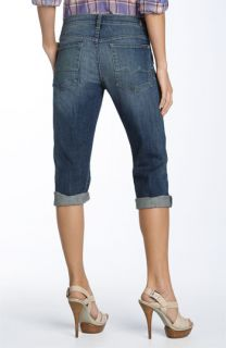 7 For All Mankind® Josefina Crop Stretch Boyfriend Jeans (Medium Indigo Wash)