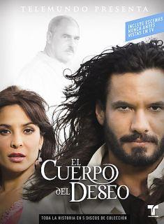 El Cuerpo del Deseo DVD 2006 5 Disc Set DVD 2006