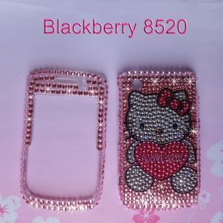 Bling Diamond Hard Phone Case Cover Blackberry Curve 8520 8530 9300